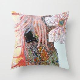 Eye of Pegasus Throw Pillow