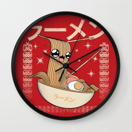 Craving Ramen Wall Clock
