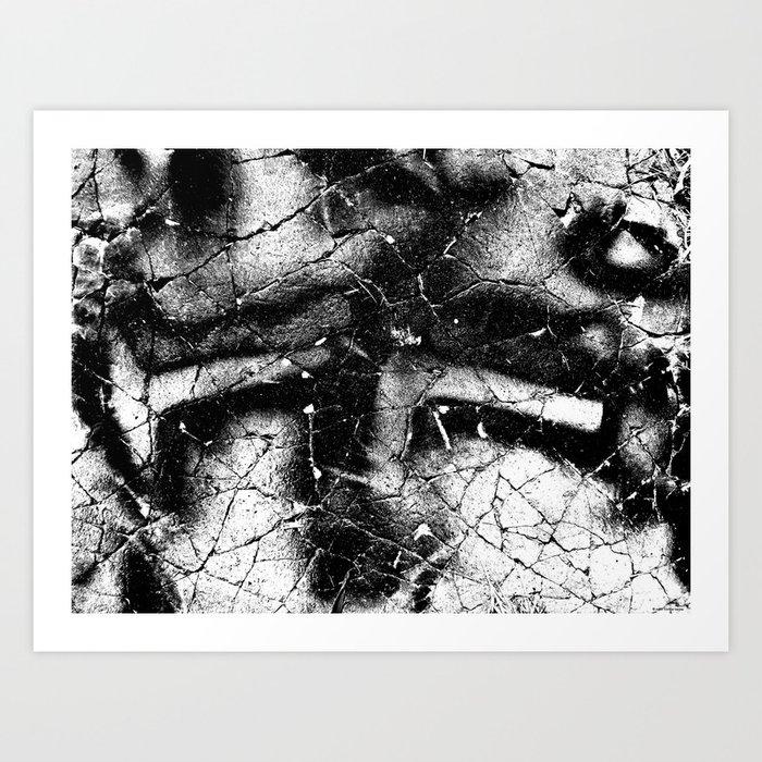 """Ash Stain"" Art Print"