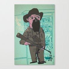 le police Canvas Print