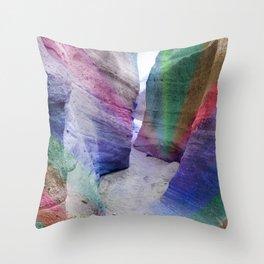 Color Canyon Throw Pillow