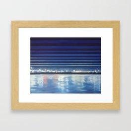 Santa Barbara Pier Framed Art Print