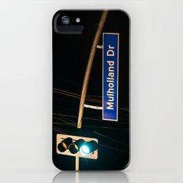 Mulholland Drive iPhone Case