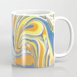 Bright Colors Swirly Marble Background Coffee Mug