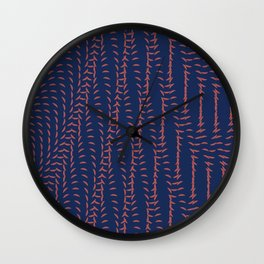 Or_blue Wall Clock