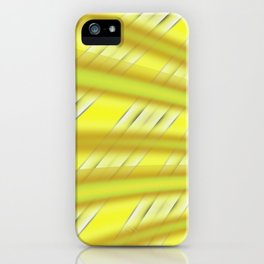 Fractal Play in Citruslicious iPhone Case