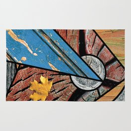 Angles of Nature ~ Design 01 Wood Rug