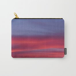 Pink and Blue Skies Carry-All Pouch