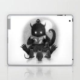 Story Time (black and white option) Laptop & iPad Skin