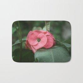 Corona de Cristo - Flower Photography Bath Mat