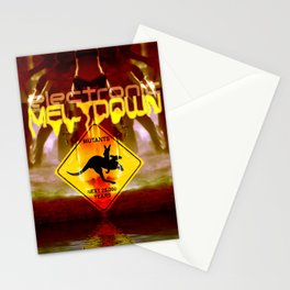 Electronic Meltdown | Nuclear Free Australia Stationery Cards