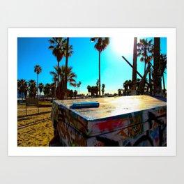 Venice Beach #2 Art Print