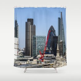 City of London Shower Curtain