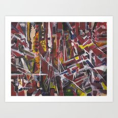 Abstract 2014/11/30 Art Print