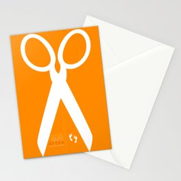 Running with scissors Stationery Cards
