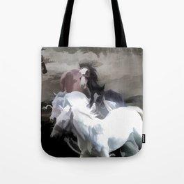 Breaking Free  -  Wild Horses Tote Bag