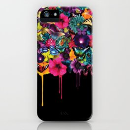 Flowers Melting iPhone Case