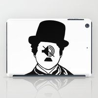 charlie chaplin iPad Cases featuring Charlie Chaplin by NotNorrah