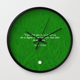 Dangerous Ideas Wall Clock