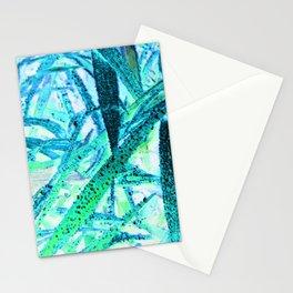 Invert Grass Design Stationery Cards