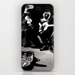 Street Musicians iPhone Skin