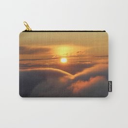 Foggy Catskills Sunset-Landscape Carry-All Pouch