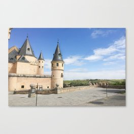 Alcazar de Segovia Canvas Print