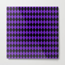 Jester Purple Metal Print
