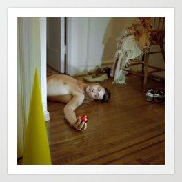 The Capitulacion of Prophet Adam, Bible Book of Genesis, Cuban Contemporary Photography Art Art Print