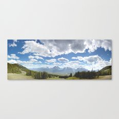 Canada, Rocky Mountains Canvas Print