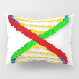 Twin DNA Strands Pillow Sham