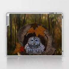 Barred Owl Laptop & iPad Skin