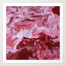 pink river Art Print