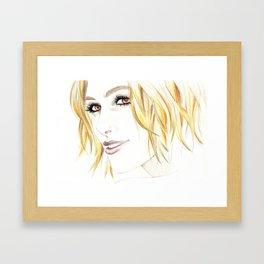 Keira Knightley Framed Art Print