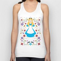 alice Tank Tops featuring Alice by Carly Watts