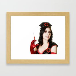 got blood? Framed Art Print