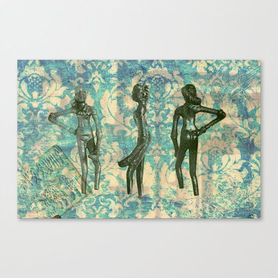 Dance baby, dance Canvas Print