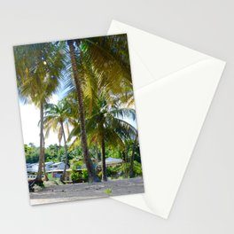 Coconut trees in the Sun Stationery Cards