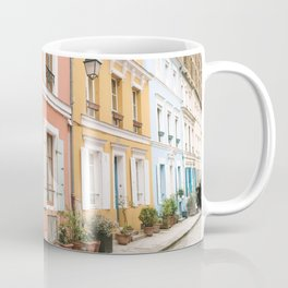 STRUCTURAL PHOTOGRAPHY OF MULTICOLORED BUILDING Coffee Mug