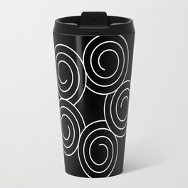 Invert spirals Travel Mug