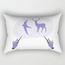 Patronus- Stag + Swift Rectangular Pillow