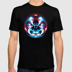 Sphere I (Staring) MEDIUM Black Mens Fitted Tee