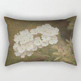 White little flowers Rectangular Pillow