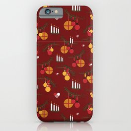 Hygge holiday iPhone Case