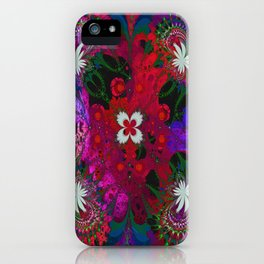 Hodge Podge Psychedelic iPhone Case