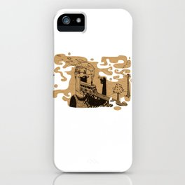 Train Mouth Mc Gregor iPhone Case