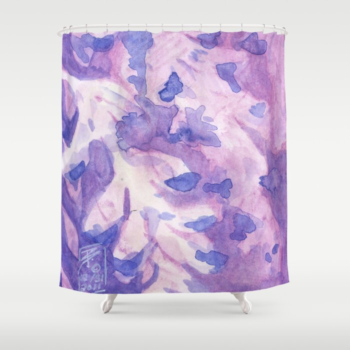 Wisteria Shower Curtain By Brandywoods