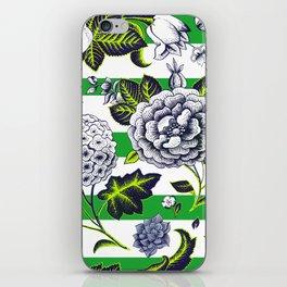 Modern Vintage Florals iPhone Skin