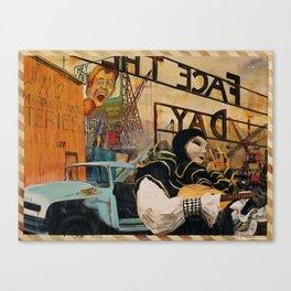 """""""GARDEN STATE"""" Canvas Print"""