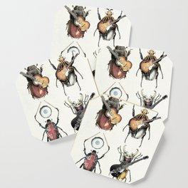 Meet the Beetles (white option) Coaster